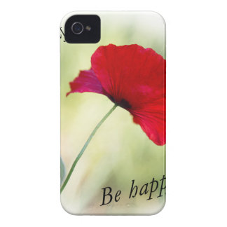 """""""Be happy! - Love Yourself..."""" iPhone 4 Case-Mate Case"""
