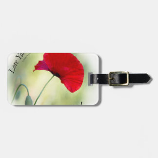 """""""Be happy! - Love Yourself..."""" Luggage Tag"""