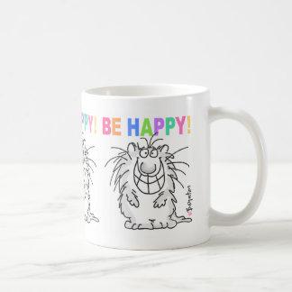 BE HAPPY! mug