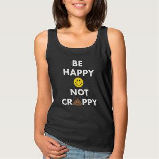 BE Happy Not Crappy Basic Tank