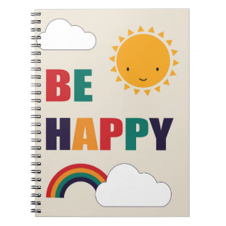 Be Happy Notebook