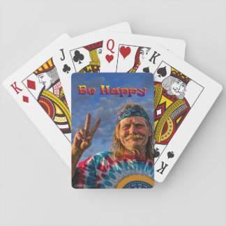 BE HAPPY PLAYING CARDS