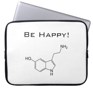 Be Happy! Serotonin Laptop Sleeve
