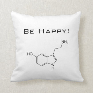 Be Happy! Serotonin Pillow