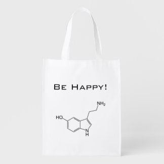 Be Happy! Serotonin Reusable Bag
