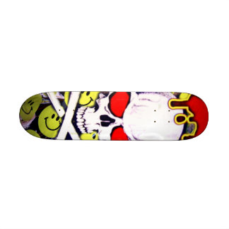 Be Happy_ Skateboard_by Elenne Boothe Skate Board