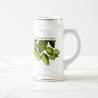 Be Hoppy Beer Stein