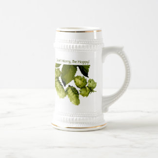 Be Hoppy Beer Steins