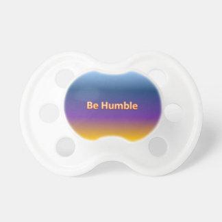 be humble dummy