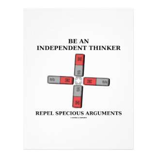Be Independent Thinker Reject Specious Arguments Personalized Flyer