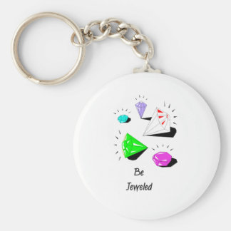 Be Jeweled Key Chains