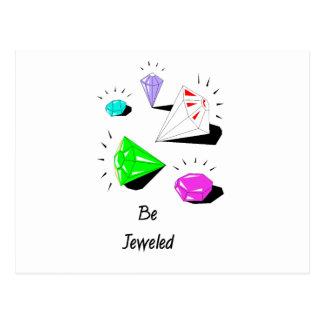Be Jeweled Postcard