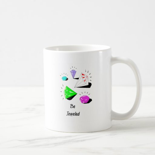 Be Jewelled Basic White Mug
