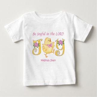 Be Joyful - Chick Baby T-Shirt