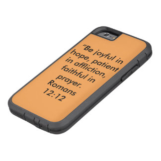 """Be Joyful"" IPhone 6/6S Tough Ext Cell Phone Case"
