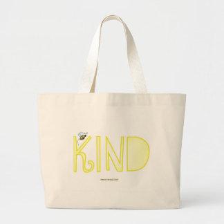 Be Kind - A Positive Word Jumbo Tote Bag
