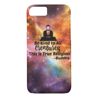 Be Kind Buddha iPhone 7 case