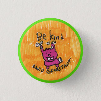 Be Kind bunny 3 Cm Round Badge