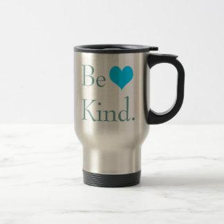 Be Kind Heart Travel Mugs