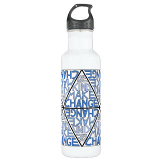 Be Kind Make Change - Nonviolence Movement Bottle