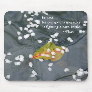Be Kind...Plato Mouse Mat