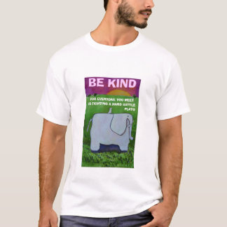 BE KIND - PLATO QUOTE - T-SHIRT
