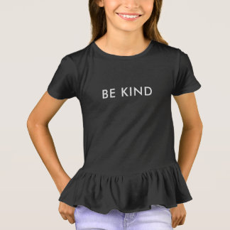 Be Kind Ruffle T-Shirt - Inclusion Project