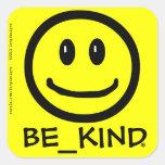 BE_KIND Square sticker
