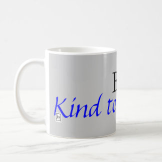 Be Kind to Yourself Basic White Mug