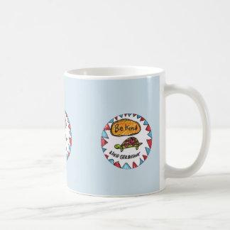 Be kind turtle mug