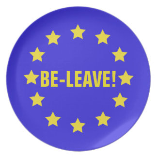 BE-LEAVE! PLATE