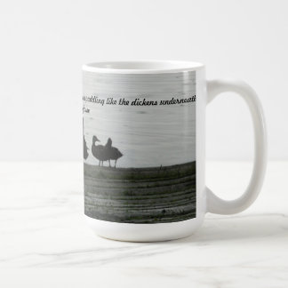 Be like a duck coffee mug