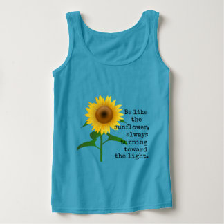 Be Like the Sunflower Tank Top