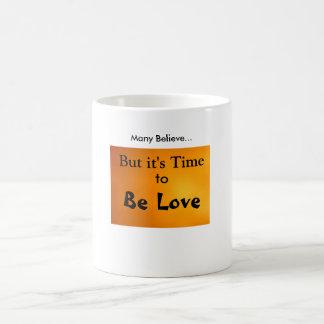 Be Love Basic White Mug