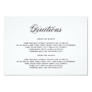 Be Married | Direction Enclosure Card 9 Cm X 13 Cm Invitation Card