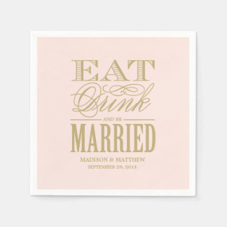 Be Married | Personalized Paper Napkins