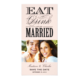 & BE MARRIED | SAVE THE DATE ANNOUNCEMENT CARD