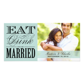 & BE MARRIED | SAVE THE DATE ANNOUNCEMENT PERSONALISED PHOTO CARD