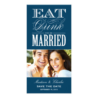 & BE MARRIED | SAVE THE DATE ANNOUNCEMENT CUSTOMISED PHOTO CARD