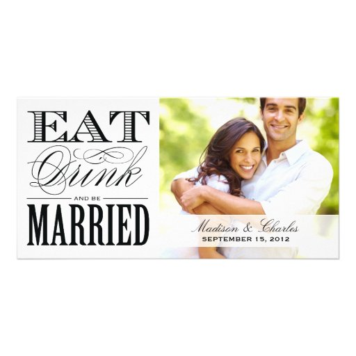 & BE MARRIED | SAVE THE DATE ANNOUNCEMENT PHOTO CARDS