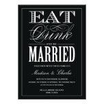 & BE MARRIED | WEDDING INVITATION