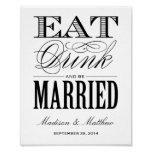 Be Married | Wedding Reception Sign