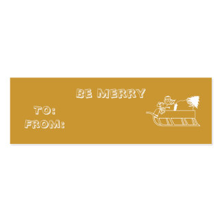 Be Merry Business Card Templates