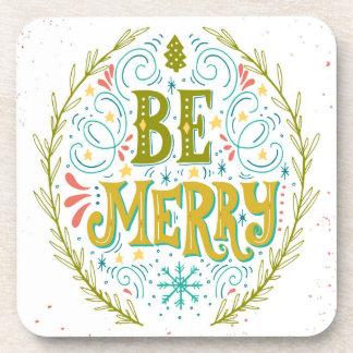 Be Merry Coaster