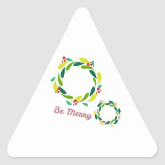Be Merry Stickers
