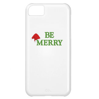 BE MERRY this holiday with these terrific gifts iPhone 5C Case