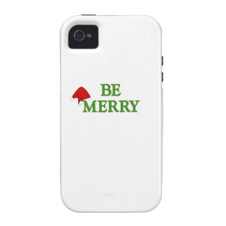 BE MERRY this holiday with these terrific gifts Case-Mate iPhone 4 Cases