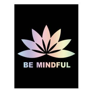 Be Mindful Postcard