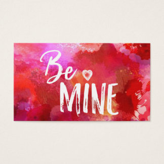 Be Mine Acts of Kindness Card Valentine
