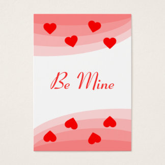 Be Mine Business Card